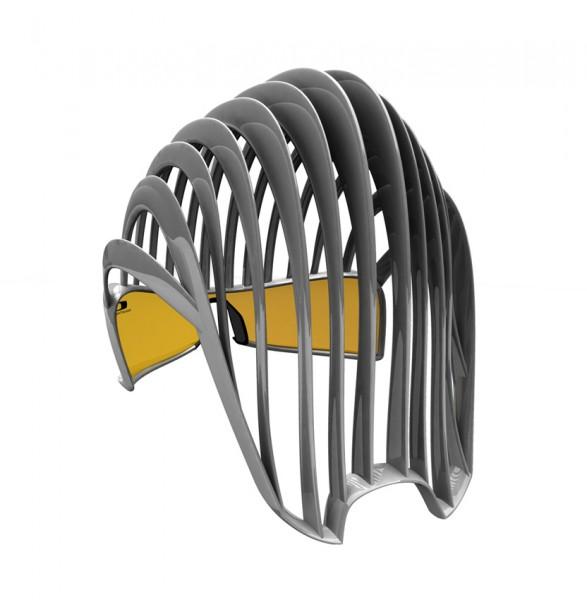Необычный велосипедный шлем