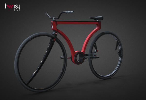 велосипед twist-bike
