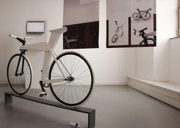 Велосипед из алюминиевого листа