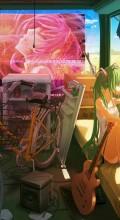Велосипедные обои. Манга