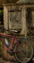 Велосипедные обои. Городской велосипед