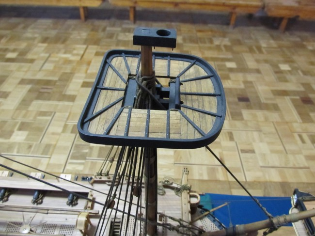 Модель корабля Святой Евстафий