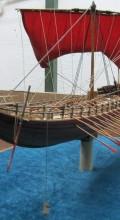 модель боевого корабля в масштабе Греческая бирема