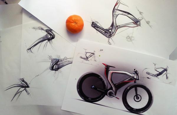 Велосипед Opel Boomerang процесс разработки