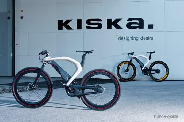 Электрический велосипед Opel Boomerang как он есть