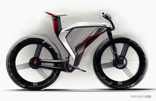 Электрический велосипед Opel Boomerang