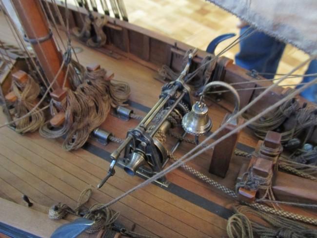 Модель Императорской яхты «Королева Виктория». Мастер Алексей Баранов, Одесса.