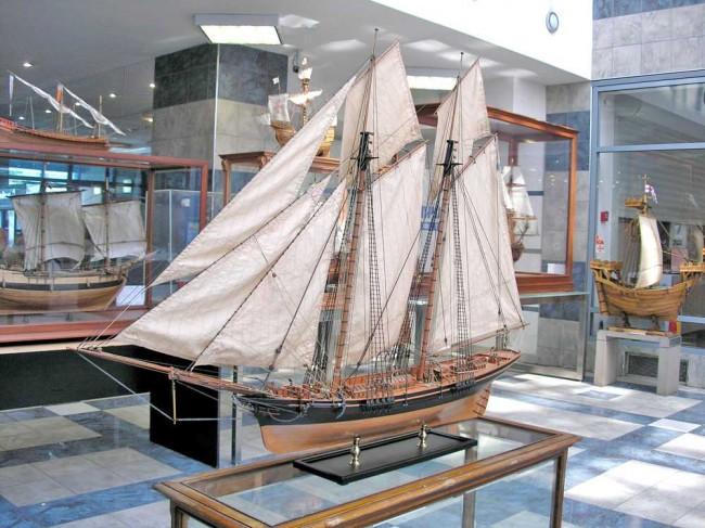 Модель Императорской яхты «Королева Виктория» 1846 года. Мастер Алексей Баранов, Одесса.