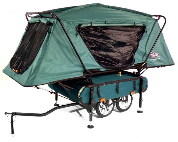 Правильная велосипедная палатка Kamp Rite's Midget Bushtrekka