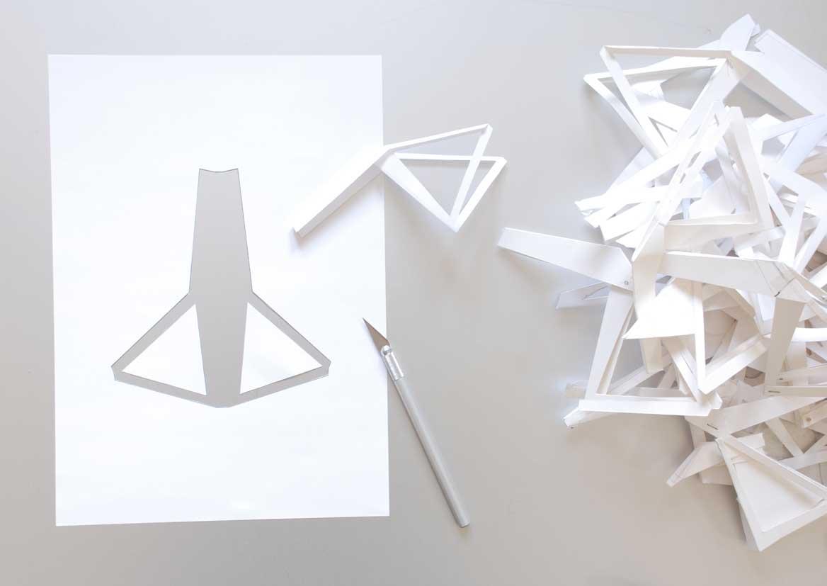 Оригами велосипеда от дизайнера Морица Менахера
