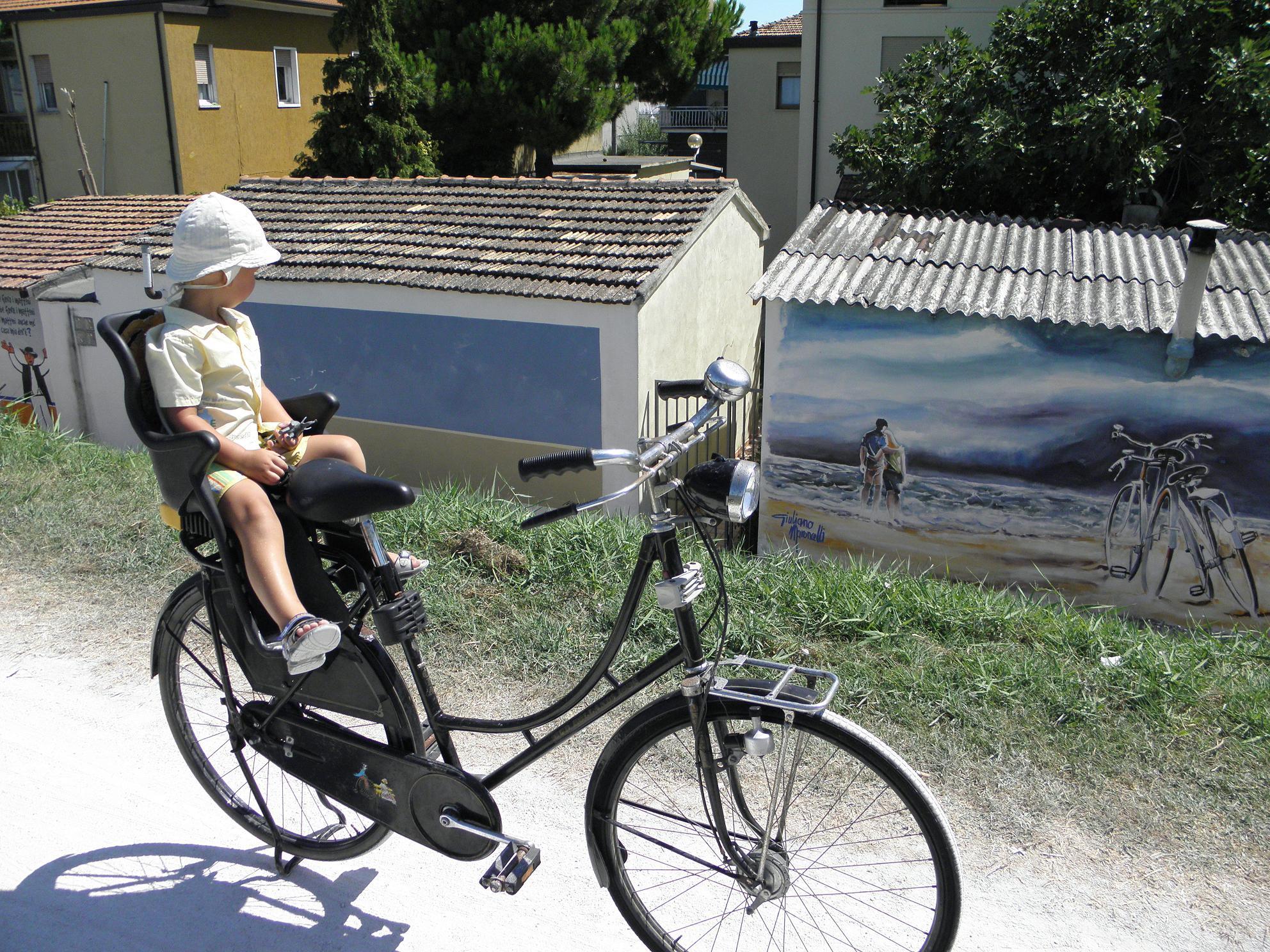 на велосипеде по Милану