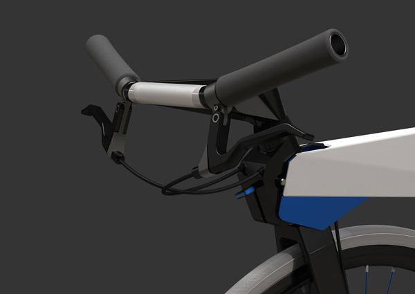 Велосипед из алюминиевого листа rollin