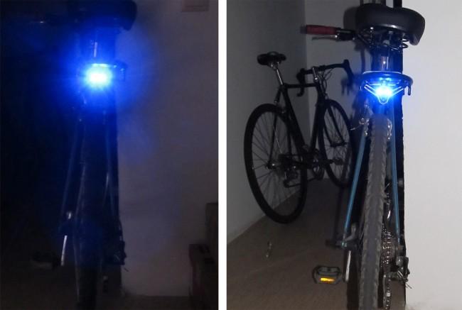 Самодельный задний свет на велосипед