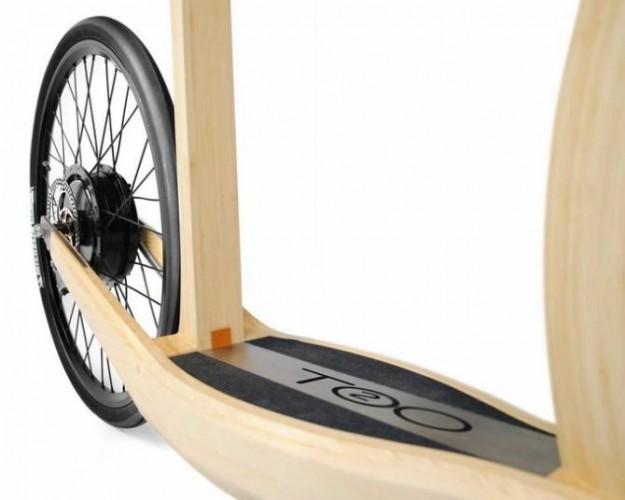 Гибрид велосипеда и самоката T2o