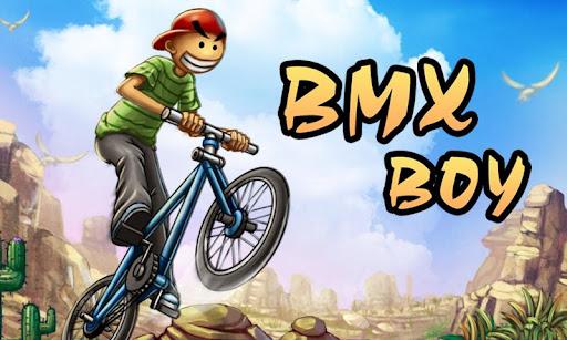 На велосипеде – BMX Boy v1.0