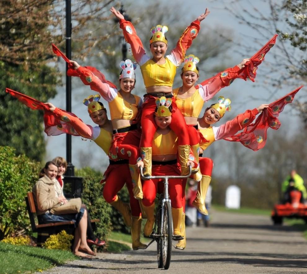 Китайские чиновники будут передвигаться на велосипедах