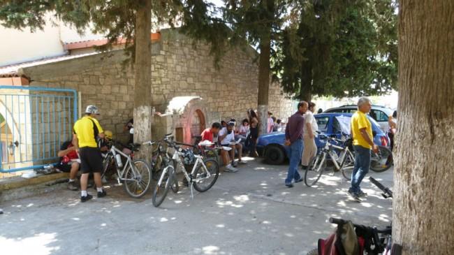 Марафонский заезд посвященный Битве за Крит. Финиш