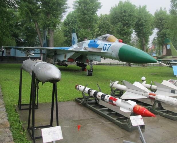 Самолет Су-27 27 июля 2002 года