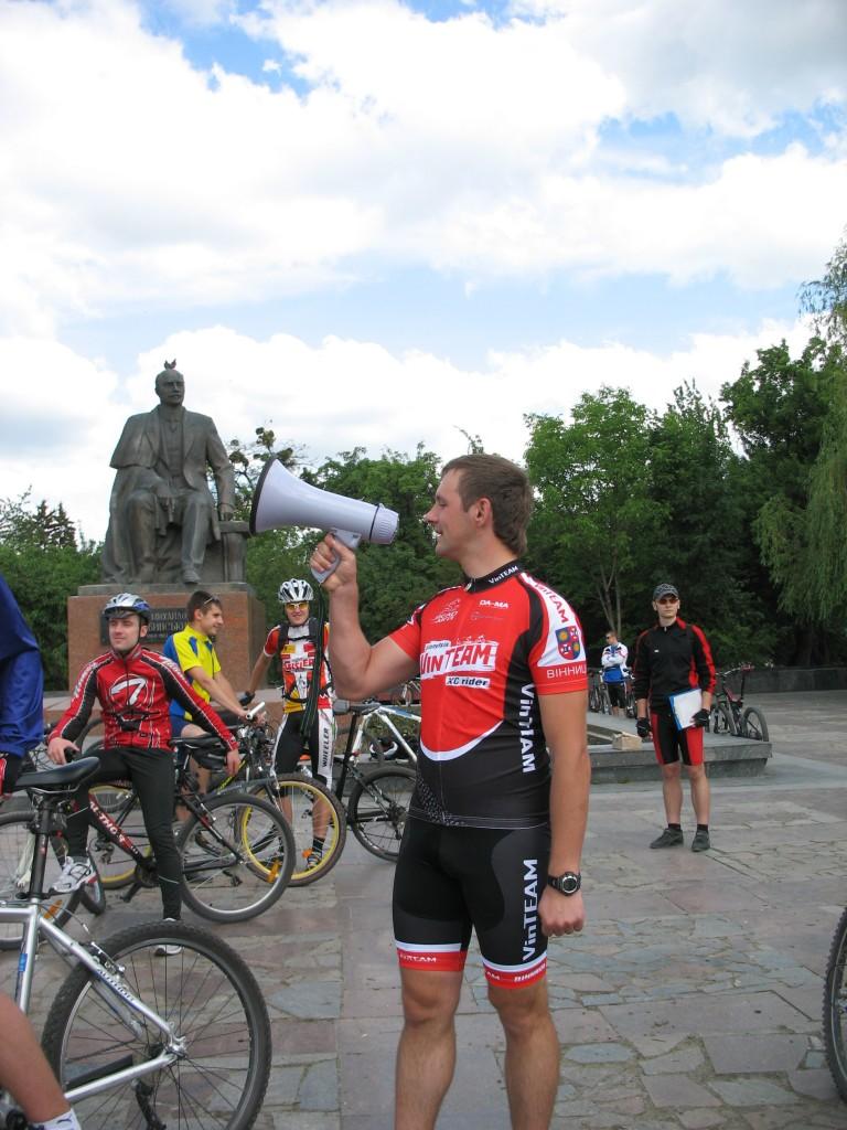 Винницкий велосипедист Руслан Левчук