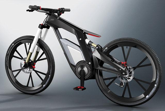 Audi плюс Ducati показывают нам електро велосипед – E-Bike Ever