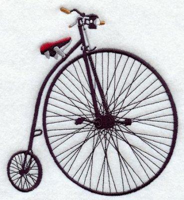 еще первый велосипед
