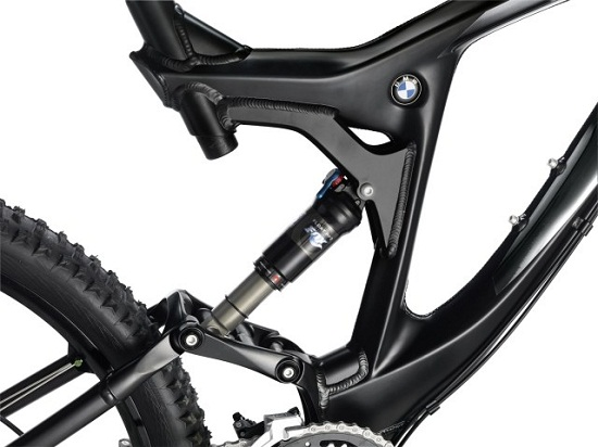 Двухподвес BMW Mountain Bike Enduro 2012 задний мост