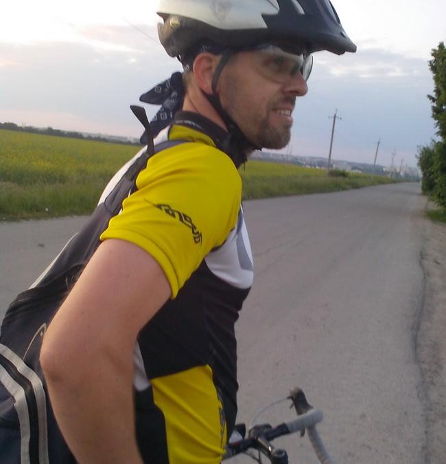 Велосипедист Сергей, Винница
