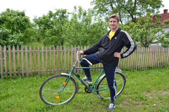 Мой велосипед – Аист