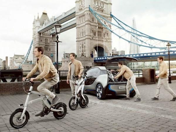 Електровелосипед BMW, складной, концептуальный