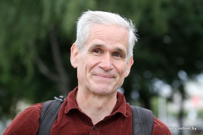 Джон Росмэн. Американский велосипедист из Беларуси