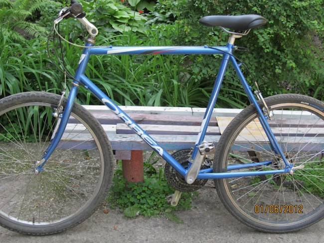 Мой велосипед – Orbea