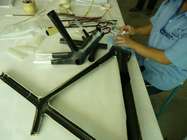 Велосипедная рама карбон своими руками