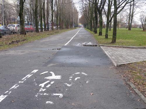 велосипедные дорожки в Киеве