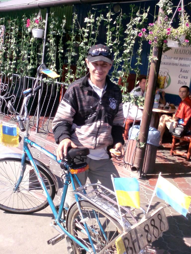 Велосипедист Василий. Ковель-Одесса