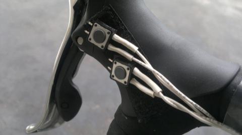 Переключатель передач велосипеда электронный –  руль