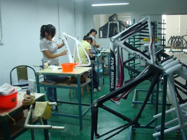 карбоновая рама из Китая