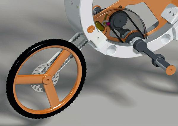 Donut – складной велосипед от Arvind'а