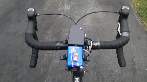 Переключатель передач велосипеда электронный –  руль, электроника