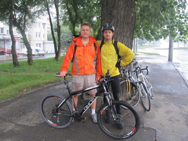 Андрей и Сергей в Хмельницком. Сцена прощания
