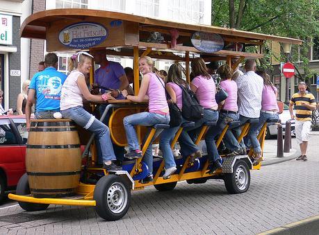 Веломобиль для всех Велоавтобус