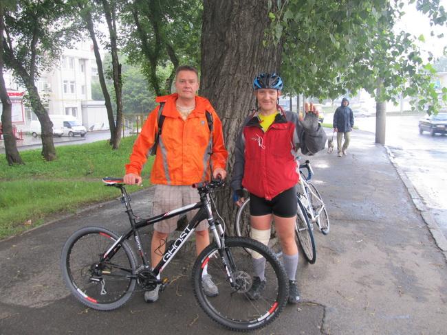 Андрей и Вова в Хмельницком. Сцена прощания