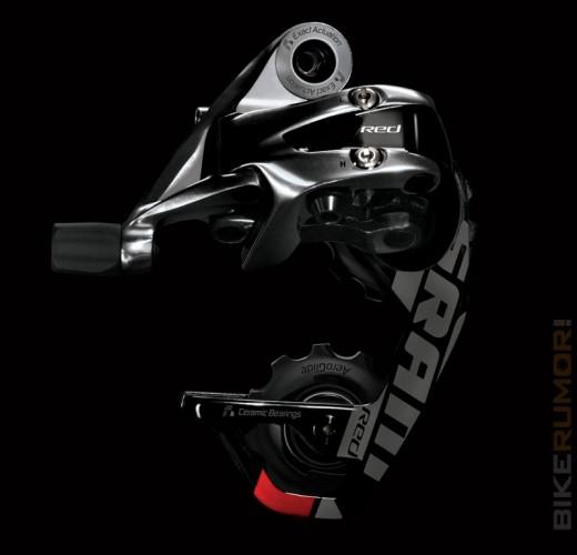 Задний переключатель новый 2012 SRAM Red – планирующий в воздухе