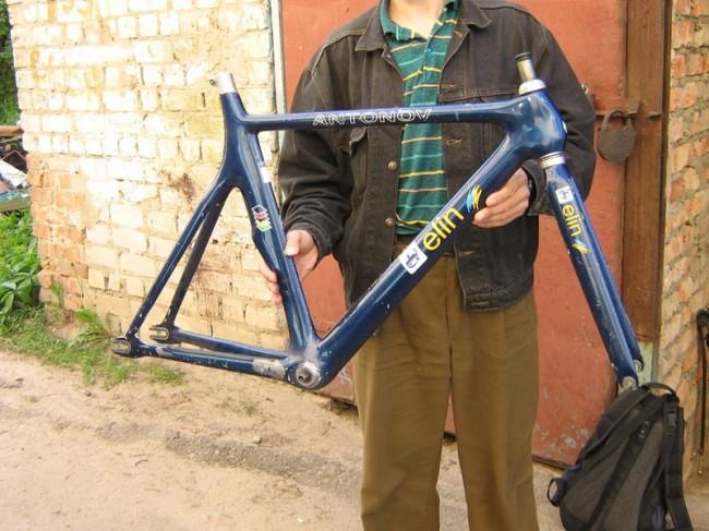 Велосипед ная рама АНТК имени Антонова Enei track frame
