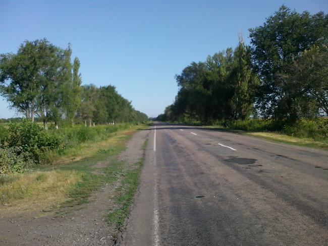 Веломарафон 2012. Дорога на Пятихатку