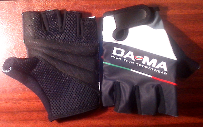 Перчатки велосипедные Da-Ma Италия