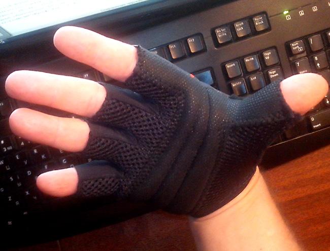Перчатки велосипедные cycling gloves