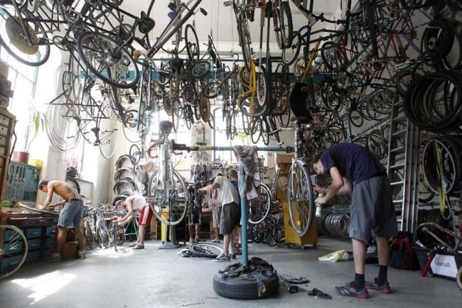 Велосипедная мастерская