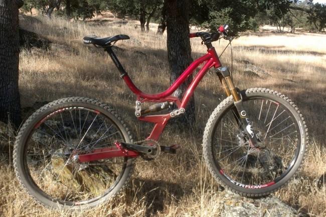 650B-Ram-Bike Велосипед Ричарда Шепарда
