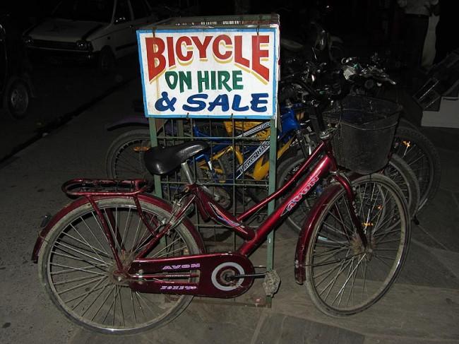 Индийский велосипед