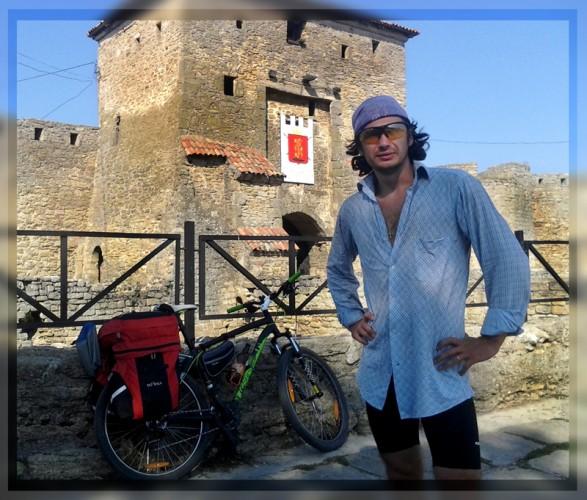 велосипедист Владимир Гуцол